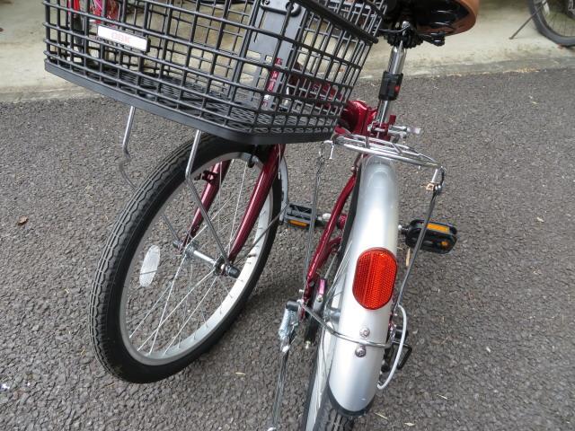 折り畳み自転車を釣り用に改造